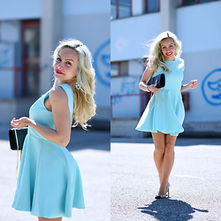 Eleonora Petrella - Oasap Baby Blue Dress - What are you waiting for?