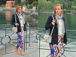 Rimanere Nella Memoria - H&M Blazer, Vero Moda Pants, H&M Bag, Jumex Shoes - Colored Trousers for Dinner