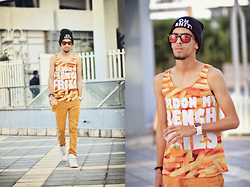 Hamza Rouah - Romwe French Fries, Zara Color, Nike Air Force - French Fries