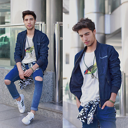 Ayoub Mani - Jeans Wholesale7, Bombers Ultra Tee, Top Ultra Tee, Adidas Neo Label - This is my spring song to you...