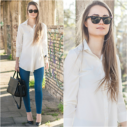 Izabella Kvist - Romwe Shirt - Basic but never boring