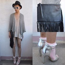 Jeroy Balmores - Forever 21 Heels, H&M Bag - Achieve
