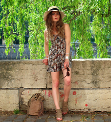 Marie And Mood - Eden Jumpsuit, Zara Sandals, Balsamik Bag - Eden by Element
