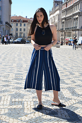 Filipa Gameiro - Zara Culottes, Zara Crop Top - Current Obsession | Culottes
