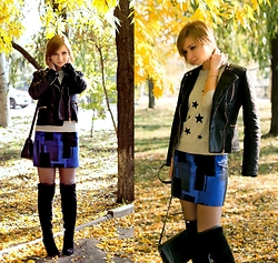 "Svitlana L - Mango Skirt, Warehouse Top, Pull & Bear Jacket - ""IT WAS IN AUTUMN"" POST #LOL"