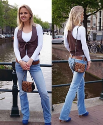 Susanne Bender - Subdued Bag, Pepe Jeans - The magical effect of leopard..!