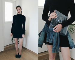 Alona Bronstein - New Look Loafers, Bershka Clutch - Sharpen Your Knife.