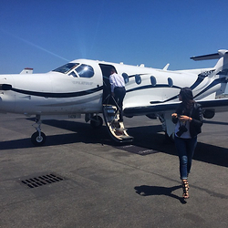 Amy Marietta - Carolinna Espinosa Shoes, Nanette Lepore Jacket - What To Wear On A Private Jet