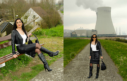 Natassia -  - Atomic kitten in leather