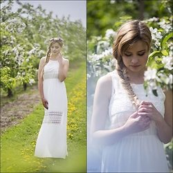 Juliette Jakubowska -  - In the garden- maxi dress