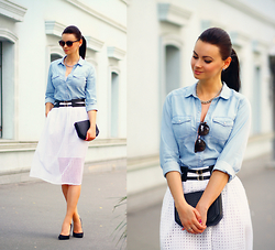 Anna Mour ♥ -  - Denim shirt