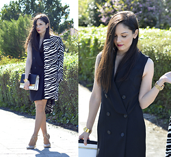 Alba . - Choies Coat, Oasap Dress - ...Cross Dress...