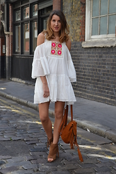 Gemma Talbot - Asos Dress, Asos Bag, Asos Boots - Smock Dress