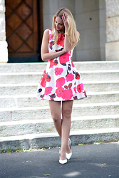 Vanessa Ciliberto - Axparis Dress - Flower dress