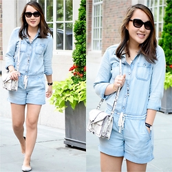 Areta Chen -  - The Chambray Romper