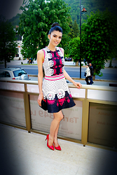 Ramona Lefter - Valentino Inspired A Line Dress - Patterns