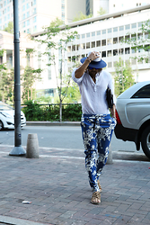 INWON LEE - Byther Pants, Byther Shirts - Reflesh blue