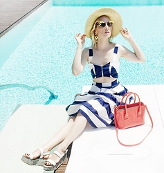 Alina Tanasa - Furla Bag, Asos Dress, Zara Shoes - Sunbath time