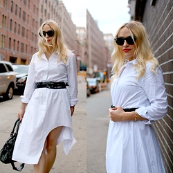 Kaley Beery - Chicnova Shirtdress - Shirtdress With a Twist Too