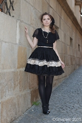 Pierrette - Infanta Blouse, Porcelain Doll Skirt, Ccc Shoes - Everyday Elegant