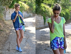 ASIA (IN &OUT BLOG) - Mango Jacket, Lovelywholesale Shorts - Sportowo..