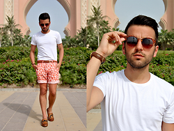 Marc Galobardes - Zara T Shirt, Zara Shorts, Zara Shoes - ATLANTIS