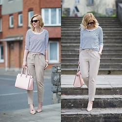 Justi Fashion -  - Stripes and beige