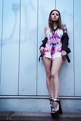 Felizia Lorenzotti - Unif Goner, Ginger Fizz Playsuit - Stand Tall