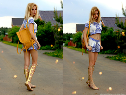 Lise Kapris - Asos Sandals Gladiators - Passion To The Gladiators
