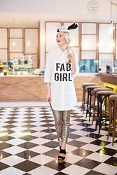 Alina Tanasa - Absolutely Fabulous Shirt, Radklaohat Hat - I'm a FAB girl