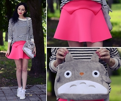 Kary Read♥ - Dressgal Bag, Style Moi Skirt - Totoro♡