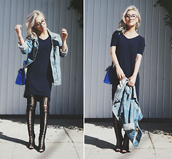 Gigi Lam - Uniqlo Airism Lounge Dress, Jessica Buurman Lace Up Boots - HAPPY 4TH!