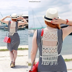 Call me M - Sfera Hat, Ifos Dress, Sammydress Bag - Sail away with ifos