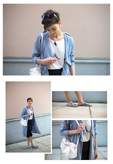 Josefin T - Gina Tricot Trench Coat, Bikbok Bag - How to style your trench