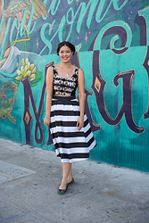 Elise Armitage - Shabby Apple Midi Skirt, Tieks Ballet Flats - Magic