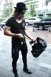 INWON LEE - Chrome Hearts Shirts, Byther Sunglasses - A rainy day