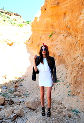 Selma - Pull & Bear Jacket, Zara Dress, Jessica Simpson Heels - Wild
