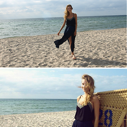 Julia - H&M Top, Zara Maxi Skirt, Asos Sandals - Baltic Sea