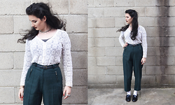 Milly -  - Green trousers