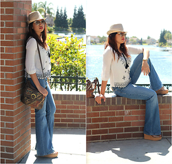 Mylz Romero - Forever 21 Top, Zara Jeans, Coach Wedges - Not So Dirty Hippie