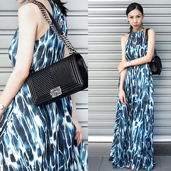 Audrey Tan - Sheilafaves Maxi Dress, Chanel Boy Bag, Cartier Ballon De Bleu - Learning To Be Free