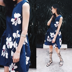 Audrey Tan - Floral Dress - Live Authentic