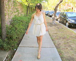Josephine Chang - H&M Cream Dress - The Fine Line Between Life and Death