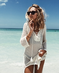 Justine I - Forever 21 Crochet Dress - Summer love