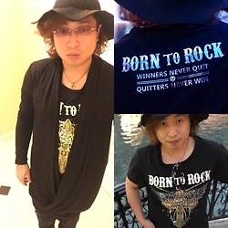 Akira Jo -  - Born to Rock - Winners never quit and Quitters never win