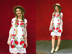 ♡Anita Kurkach♡ - Sheinside Dress, Sheinside Bag, Sheinside Shoes, Choies Hat - LOVE BOHO!