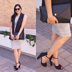 Paulina Mo - Vest, Clutch, Dress - In-vested in Chic