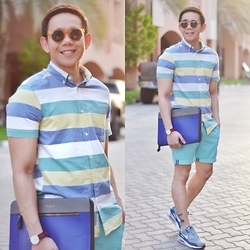 Lo Pascual ⚓ - Zerouv Suglasses, H&M Shirt, Ted Baker Bag - Beat the Heat