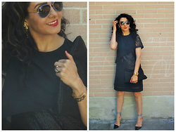 Well-Put-Together WPT - Ray Ban Sunglasses, Sophia Webster Shoes, Roberto Rodriguez Dress - Neutral & Playful