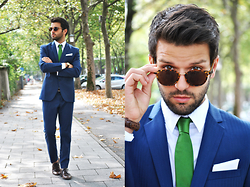 Marc Galobardes - Zara Suit, H&M Shoes, Hirmer Tie - WEDDING LOOK